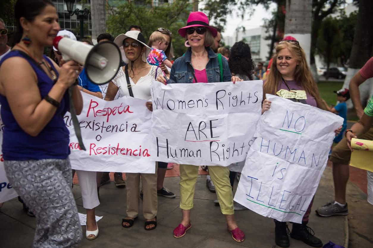 PERU-US-POLITICS-TRUMP-INAUGURATION-PROTEST